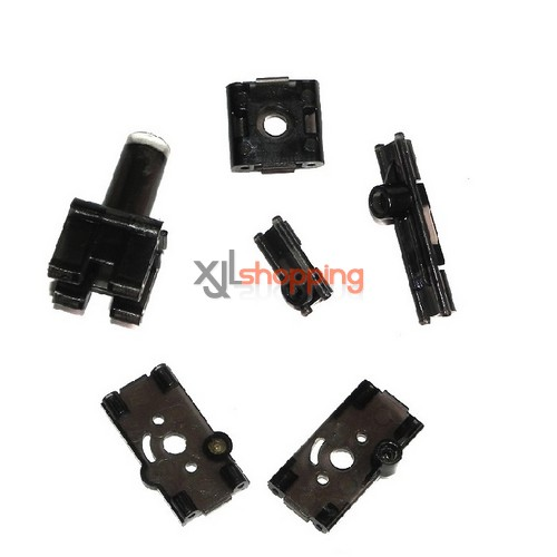 L6023 motor fixed set LS lishitoys L6023 helicopter spare parts