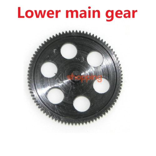 L6029 lower main gear LS lishitoys L6029 helicopter spare parts