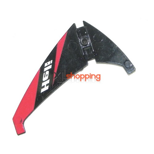 Red-Black L6030 tail decorative set LS lishitoys L6030 helicopter spare parts