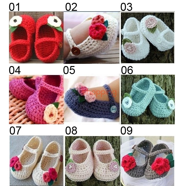 63e926f2309 Hand-knitted baby shoes、0-2 years Newborn Baby Shoes  hand-knit ...