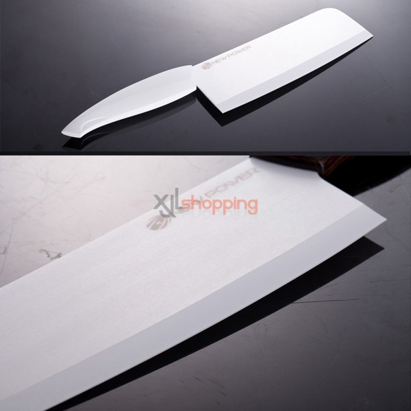 7-inch fruits and vegetables meat Sliced Antibacterial knife Newpower nano-pure zirconium knife