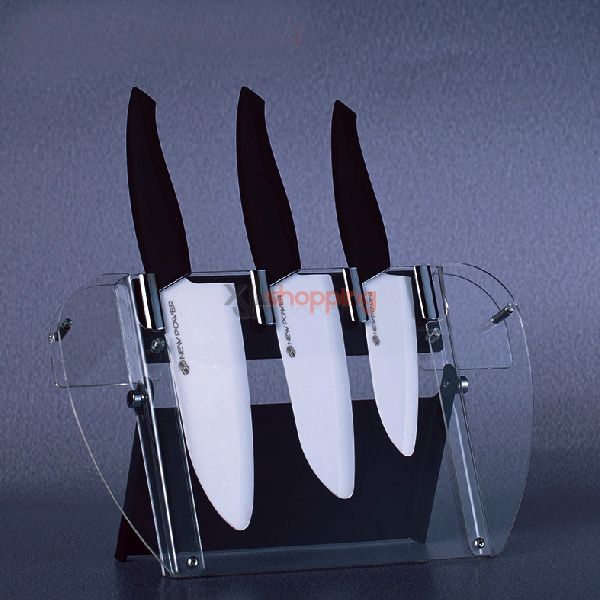 Fruits and vegetables dishes multifunctional antimicrobial knife Newpower nano-pure zirconium knife