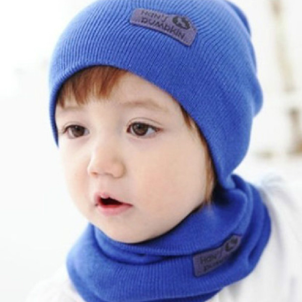 c4df42e85bd Autumn and winter wool hat cap sleeve(hat + scarf)