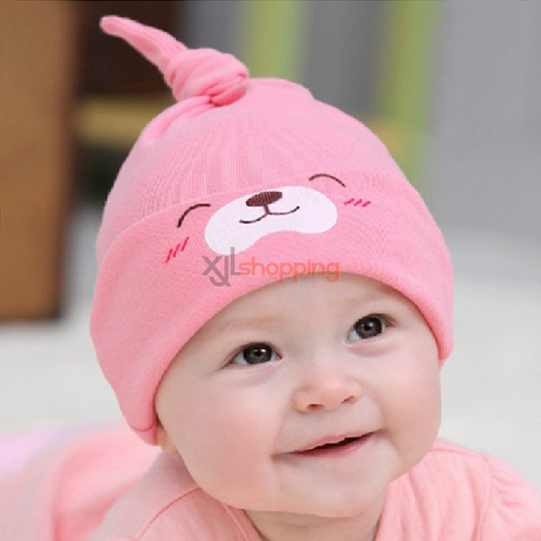 Long tail cap Cute cat sleep cap for children