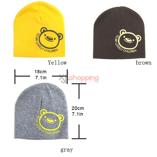 Smiley Bear hedging warm hat
