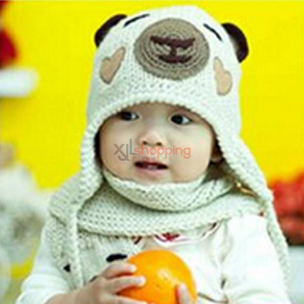 Lovely Hand Bear Scarf + cap sleeve