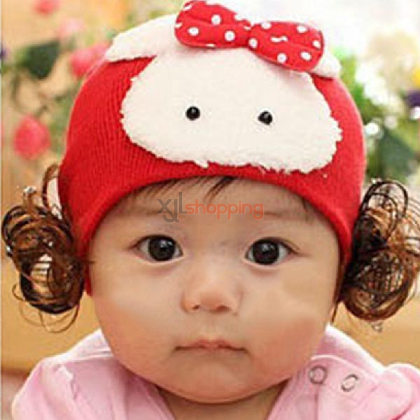 Infants and Children wig rabbit hat