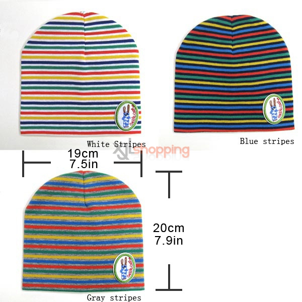 Stripe hedging hat for Children