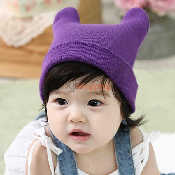 Baby warm hat Antlers hedging hat