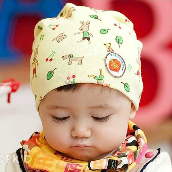 Hedging warm hat for baby