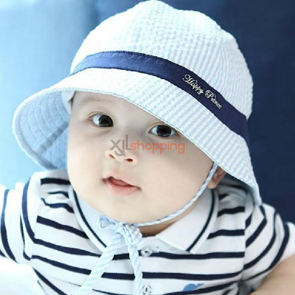 Stripe Baby pots hat Cotton hat