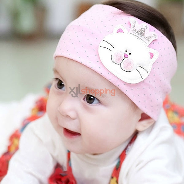 Korean version of the children's headband cat