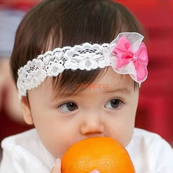 Bows lace headband Children