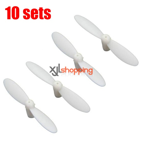 10 sets [White]CX-10 main blades CX-10 quadcopter spare parts