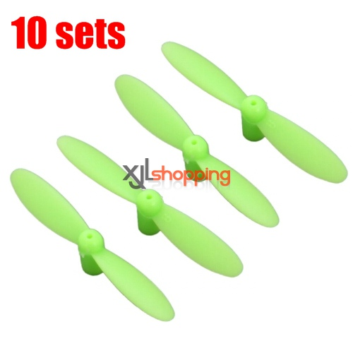 10 sets [Green]CX-10 main blades CX-10 quadcopter spare parts