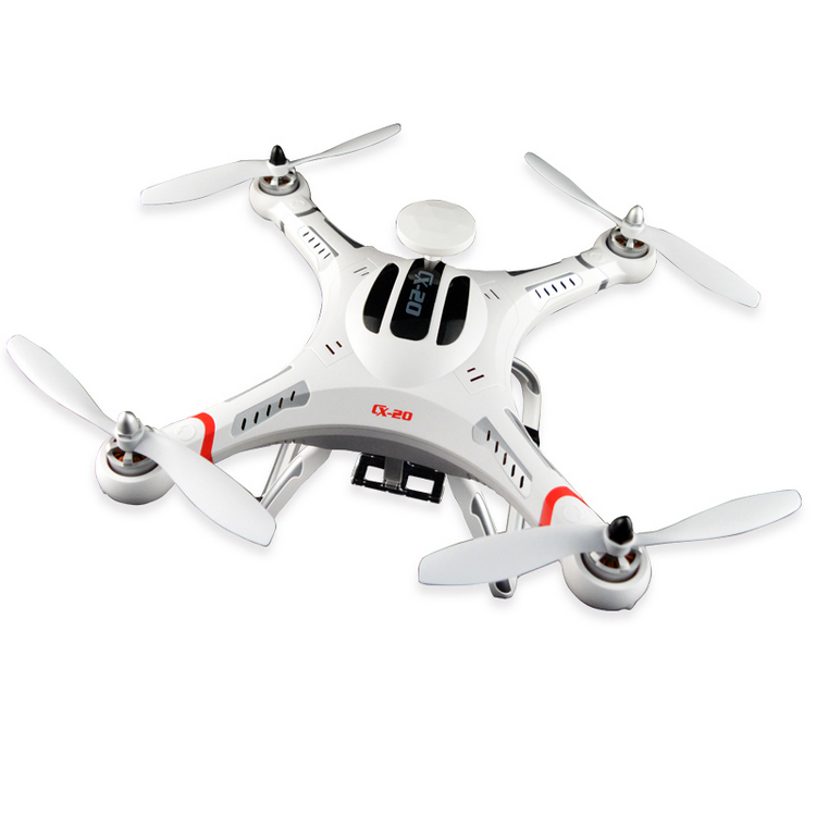 CHEERSON CX-20 Auto-pathfinder 2.4G RC quadcopter 6-Axis system .GPS positioning MX+GPS auto-return auto-pilot