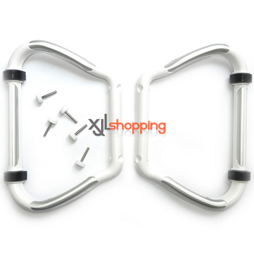 CX-20 skid landing undercarriage CX-20 quadcopter spare parts