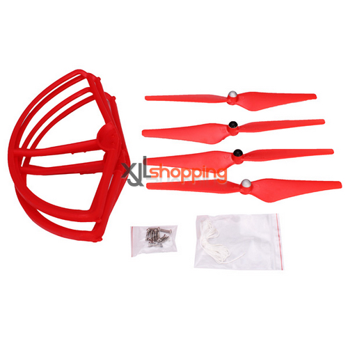 [Red]CX-20 main blades + propeller prop fender bracket CX-20 quadcopter spare parts
