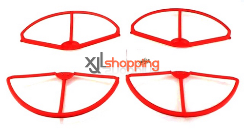 [Red]CX-20 protection set propeller prop fender bracket CX-20 quadcopter spare parts