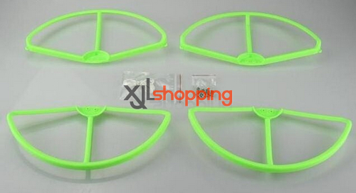 [Green]CX-20 protection set propeller prop fender bracket CX-20 quadcopter spare parts