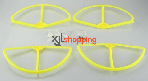 [Yellow]CX-20 protection set propeller prop fender bracket CX-20 quadcopter spare parts