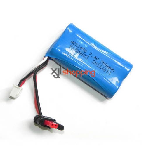 FX059 battery 7.4V 700mAh JST plug FEIXUAN Fei Lun FX059 helicopter spare parts