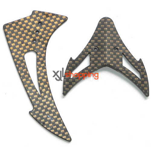 FX059 tail decorative set FEIXUAN Fei Lun FX059 helicopter spare parts