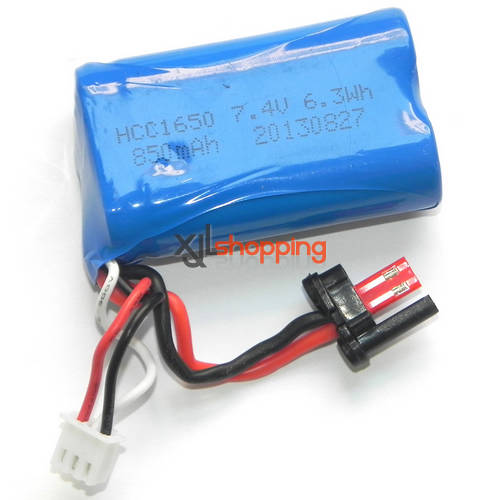 FX060 FX060B battery 7.4V 850mAh JST plug FEIXUAN Fei Lun FX060 FX060B helicopter spare parts