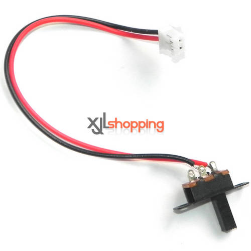 FX060 FX060B on/off switch wire FEIXUAN Fei Lun FX060 FX060B helicopter spare parts