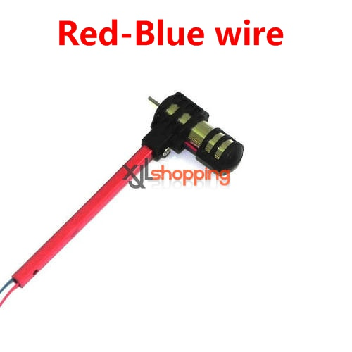 Red-Blue wire [Red bar]SH6043 side bar set SH 6043 helicopter spare parts