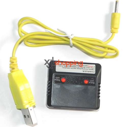 SH6045 Charger box + USB charger wire SH 6045 helicopter spare parts