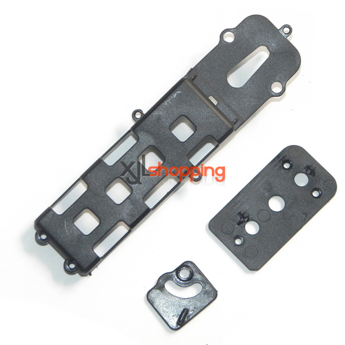 SH6045 bottom board and fixed set for the battery SH 6045 helicopter spare parts