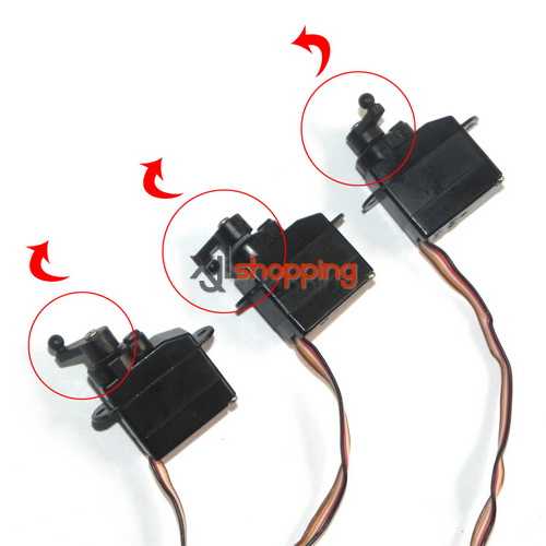 SH6050 servo set SH 6050 helicopter spare parts