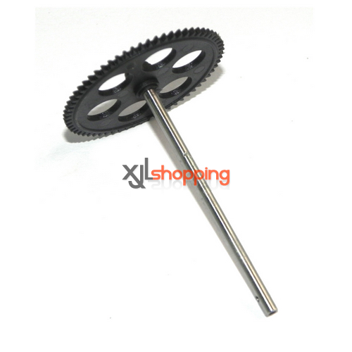 SH6050 main gear + hollow pipe SH 6050 helicopter spare parts