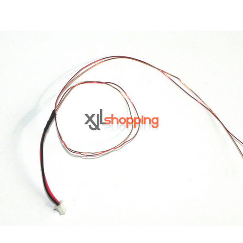 SH6050 tail motor wire SH 6050 helicopter spare parts