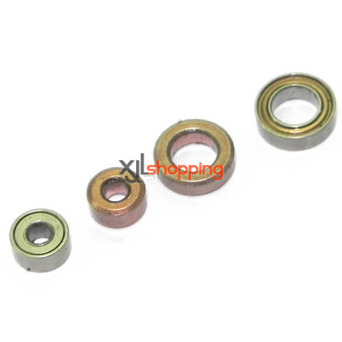 T41C T641C bearing set MJX T41C T641C helicopter spare parts