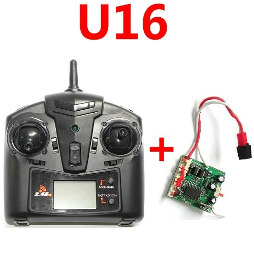 U16 transmitter + pcb baord set UDI U16 helicopter spare parts