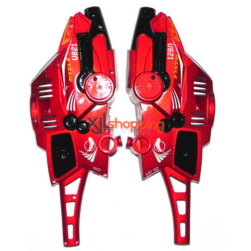 Red U821 outer cover UDI U821 helicopter spare parts