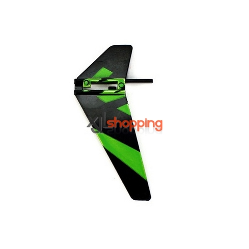 Green V911 tail decorative set WL Wltoys V911 helicopter spare parts