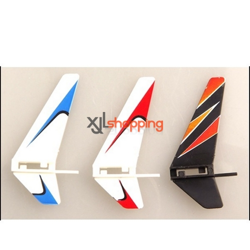 Blue V911 tail decorative set WL Wltoys V911 helicopter spare parts