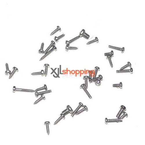 V912 screws pack WL Wltoys V912 helicopter spare parts