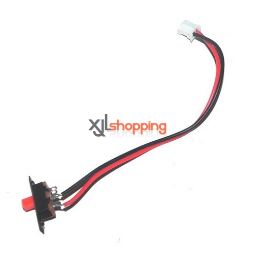 V912 on/off switch wire WL Wltoys V912 helicopter spare parts
