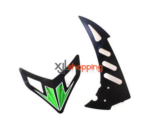 Green V912 tail decorative set WL Wltoys V912 helicopter spare parts