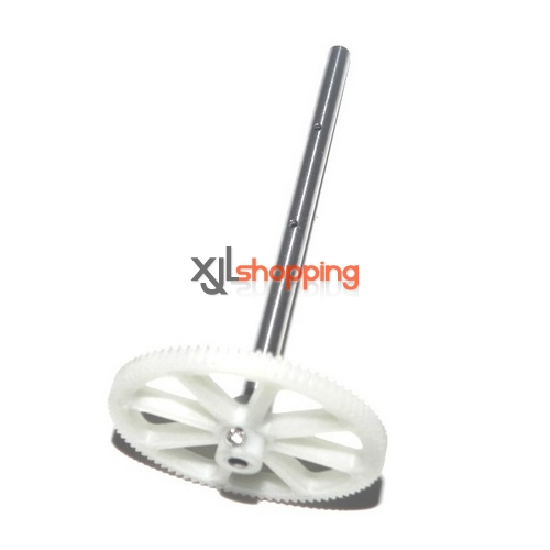 V912 main gear + hollow pipe WL Wltoys V912 helicopter spare parts