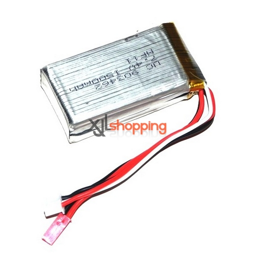 V913 battery 7.4V 1500mAh JST plug WL Wltoys V913 helicopter spare parts