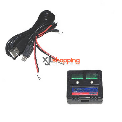 V922 USB charger wire + charger box WL Wltoys V922 helicopter spare parts