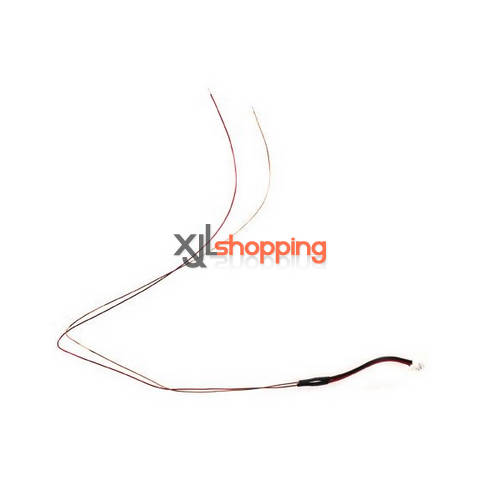 V922 tail motor wire WL Wltoys V922 helicopter spare parts