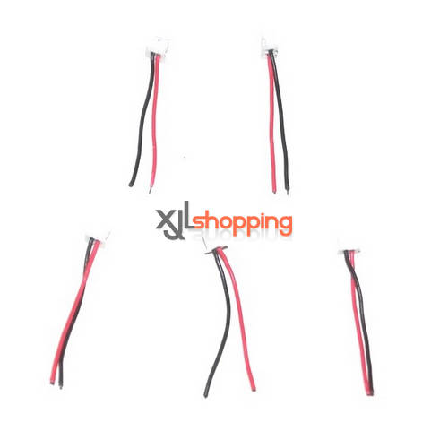 5 pcs V939 wire interface WL Wltoys V939 quad copter spare parts