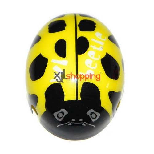 Yellow V939 head cover WL Wltoys V939 quad copter spare parts