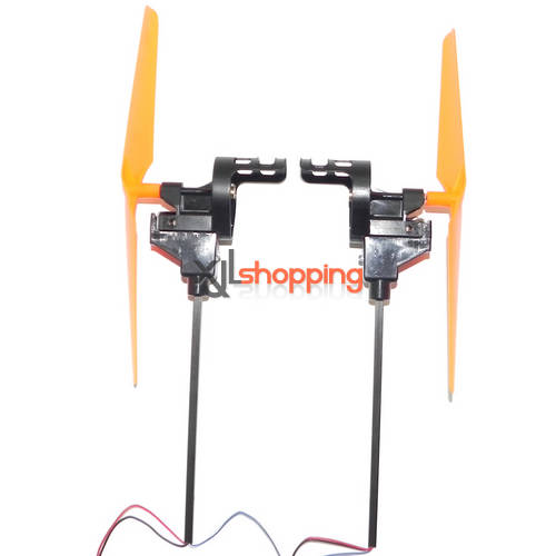 Orange (Forward + Reverse) X30 X30V total side bar set xinxun x30 x30v quadcopter ufo spare parts